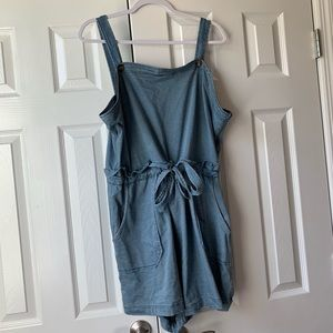 American Eagle Outfitters Denim Romper